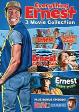 Ernest Goes to Camp/Ernest Scared Stupid/Ernest Goes to Jail DVD Jim Varney NEW