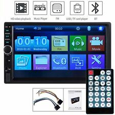 Bluetooth Car Radio Stereo 7 Inch Double 2DIN FM USB/MP5 Player Touch Screen