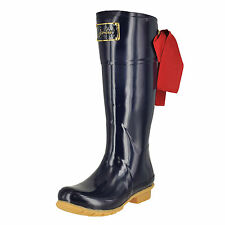 Joules Evedon French Navy Womens Rain Boots Size 7M