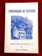 RARE 1976 1ST ED. HISTORY ALPINE NJ NEW JERSEY VINTAGE PHOTOGRAPHS FREE SHIPPING