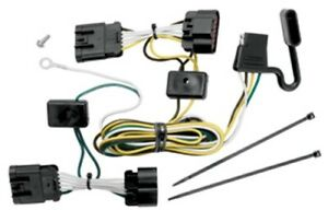 Trailer Hitch Wiring Tow Harness 4-way For Terraza Uplander Relay Montana SV6
