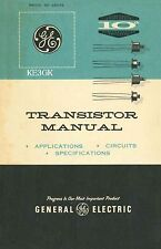 General Electric * GE Transistor Manual 1st Edition * PDF * CDROM