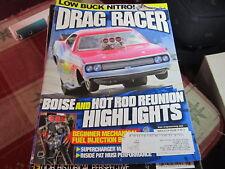 Drag Racer vintage magazine March 2010