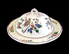 Antique V & B.M. Rouen Saar Basin 1570  Covered Butter Dish