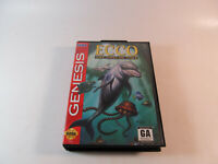 Ecco: The Tides of Time (Sega Genesis, 1994) - COMPLETE - TESTED / WORKING
