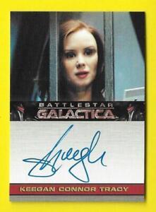 2009 Battlestar Galactica Season 4 Autograph Keegan Coonor Tracy as Jeanne