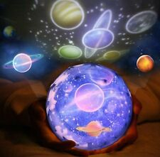 Night Light Projector Universe Star Ocean Birthday Christmas Lamp Gift for Kids