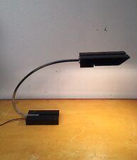 Rare ART DECO Desk Lamp Chrome Arc Gilbert Rhode Desky Era Machine Age Metal B