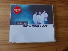 Single-CD EIFFEL 65 -MOVE YOUR BODY- 1999 BlissCo. Records