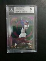 1999 Skybox Thunder Turbo Charged Ken Griffey Jr. Bgs 9