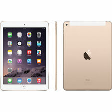 Apple iPad Air 2 16GB, Wi-Fi Cellular, 9.7in - Gold (Latest Model)