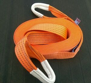 10M 4X4 RECOVERY WINCH TOWING ROPE STRAP TREE STROP 5 TON WARN OFFROAD TRACK DAY