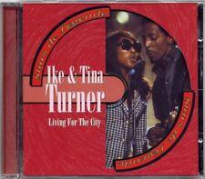 IKE & TINA TURNER - STARS DE LEGENDE - LIVING FOR THE CITY - CD ALBUM  19T 1996