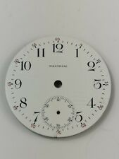 Antique Waltham Pocket Watch Dial with Red Numerals Spare Part (AE12)