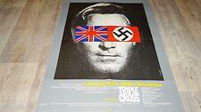 romy schneider TRIPLE CROSS  ! affiche cinema 1966