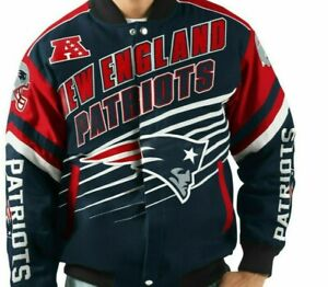 New England Patriots NFL Jacket by G-111 Adult 2XL Free Ship