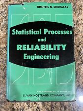 Statistical Processes and Reliability In Engineering by Chorafas HB DJ 1960 VG