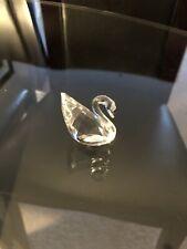 Swarovski Original Figurine Swan Mini 0 7/8in W/box