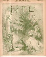 1895 Life May 30 - Canada doesn't want Newfoundland; minerva the Cat; Japan