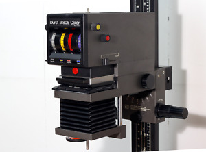 Durst M805 Enlarger - with Baeuerle Enlarger Timer and accessories