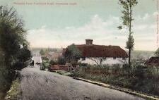 Potlands Farm Franklyn Road Haywards Heath old pc used 1907 C Clarke