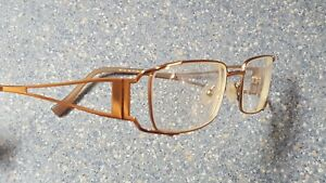 Bellagio Boutique Designer Glasses Frames Gold Metal Made in Japan