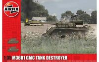 Airfix 1356 WWII US Army M3681 Tank Destroyer 1/35 Scale Plastic Model Kit