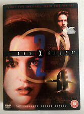 THE X-FILES, COMPLETE SERIES 2, REGION 2 DVD, VERY GOOD CONDITION.