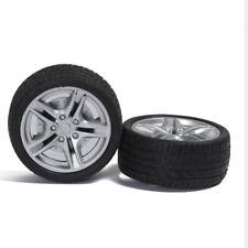 2Pcs 48mm 1:10 Rubber Tire Model Wheel DIY Robot Accessory Toy Parts For RC Car