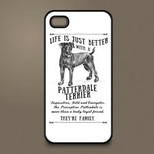 Patterdale Terrier dog phone case cover Apple iPhone Samsung Galaxy Personalised