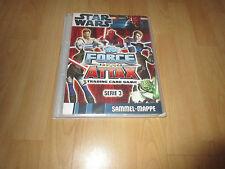 Topps Star Wars Force Attax Serie 3 Sammelmappe+ Karten 1- 240 komplett + LE1- 4