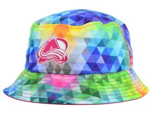 COLORADO AVALANCHE - NHL New Era Youth Gem Multi-Color Bucket Hat