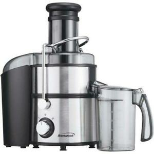 BRENTWOOD JC-500 800W Stainless Steel Electric Juice Extractor