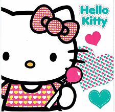 Official HELLO KITTY Blank Card Suitable for  Birthday, Good Luck, Get Well ....