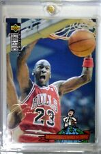 Rare: 94-95 Upper Deck International Spanish #402 MICHAEL JORDAN Gold Signature