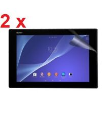 "2 X Sony Xperia Z4 Tablet 10.1"" Inch Clear Screen Protectors 2-pack"