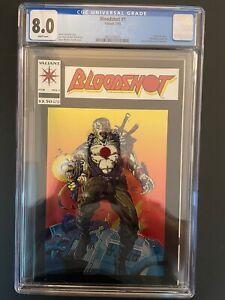 Bloodshot vol.1 #1 1993 1st Chromium Cover CGC 8.0 Valiant Comic Book GR1-38