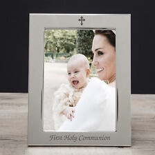 Silver 5x7 On Your 1st First Holy Communion Photo Frame Boys Girls Gifts Ideas