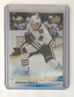 2019-20 Upper Deck Dominik Kubalik RC Young Guns Series 1 Sharp!