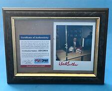 Dick Butkus auto Autograph Football POLAROID Photo PSA DNA COA 1/1? Signed RARE