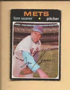 1971  OPC  # 160  TOM SEAVER  Hall of Famer  New York Mets   Very Good