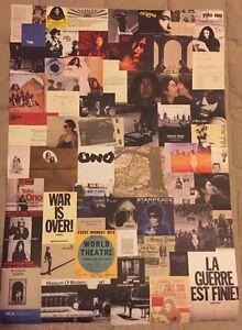 Yoko Ono Retrospective Exhibition Poster 2013 MCA Australia Grapefruit Fly IMA