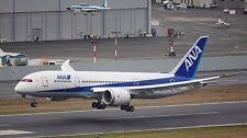B-7E7 B-787 ANA All Nippon Airways B787 Airplane Desk Wood Model Small New