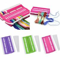 Embroidery DIY Row Line Floss Thread Organizer 30 Positions Needles Holder