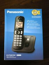 Brand New Panasonic KX-TGB310C Digital Cordless Home Phone 1-Handset Caller ID
