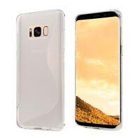 S-LINE TPU Silikon Tasche Hülle Bumper Case für Samsung Galaxy S8 PLUS - Klar