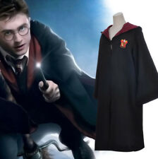 Harry Potter Gryffindor Ravenclaw Hufflepuff Magic School Cloak Robe Coat Party