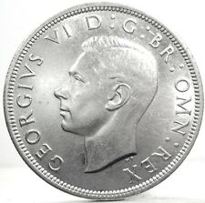 GREAT BRITAIN-Inghilterra (Giorgio VI) Half Crown 1942