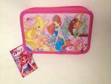 WINX CLUB Two-story DOUBLE PENCIL CASE - FULLY EQUIPED - High Quality NEW tags!!