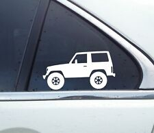 2X Lifted 4x4 stickers - for Toyota Land Cruiser LJ70 (3-DOOR)  | Classic